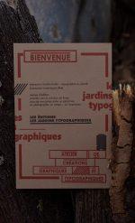 LES JARDINS TYPOGRAPHIQUES